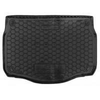 Коврик в багажник для Fiat Doblo (2010-) (7мест) корот. база полиуретан ( Avto-Gumm )